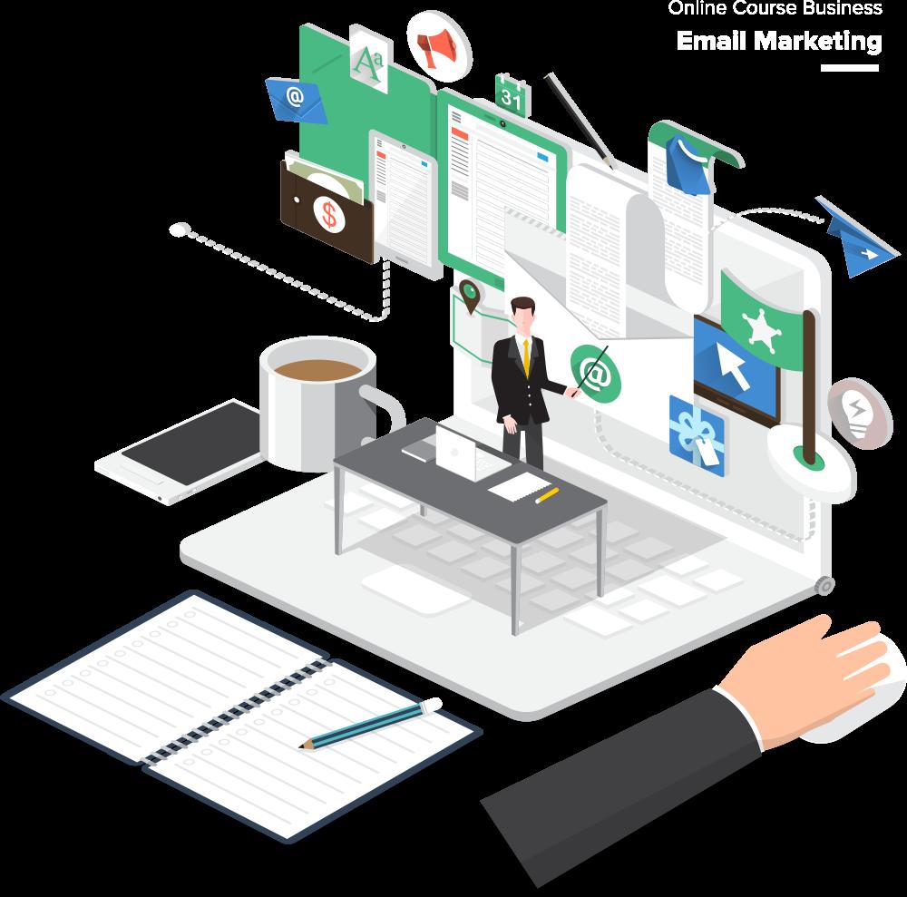 انجام امور دیجیتال مارکتینگ و ارسال ایمیل انبوه