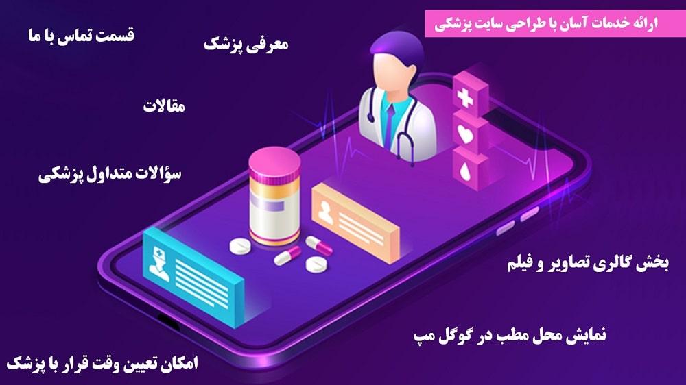 مزایای طراحی سایت پزشکی - سایت برتر