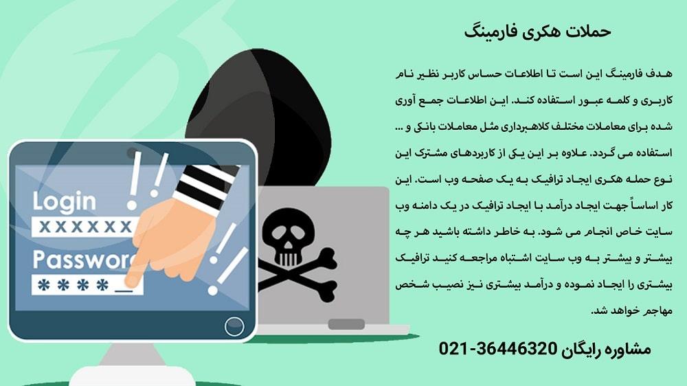 راهکارهای مقابله با حملات فارمینگ