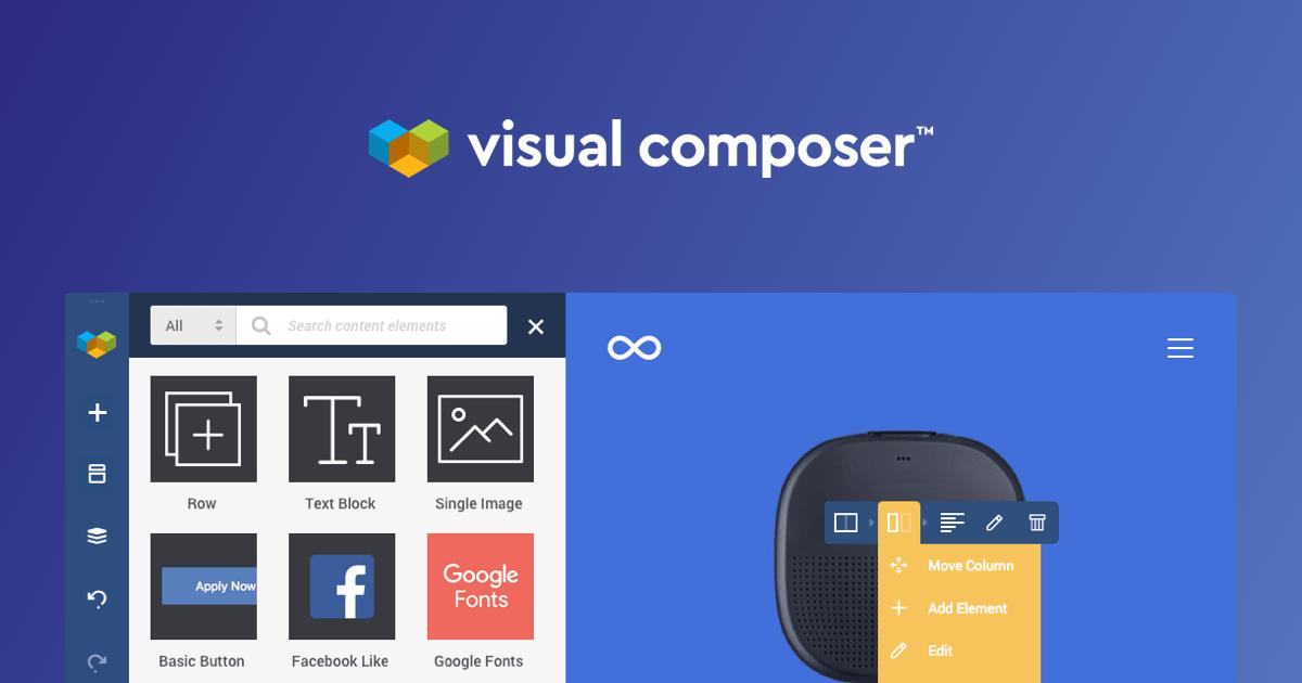 طراحی سایت با استفاده از افزونه فارسی Visual Composer