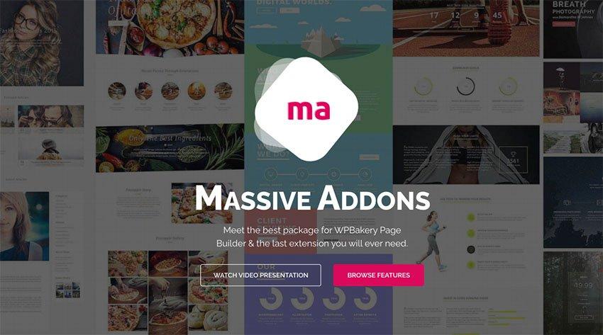 طراحی سایت با استفاده از افزونه Massive Addons
