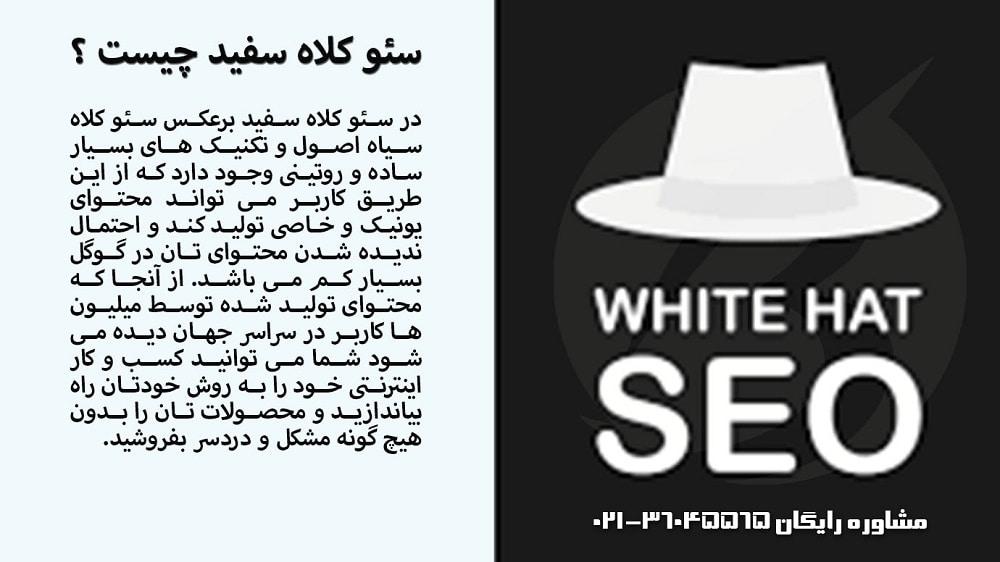 تکنیک های سئو کلاه سفید در وب سایت